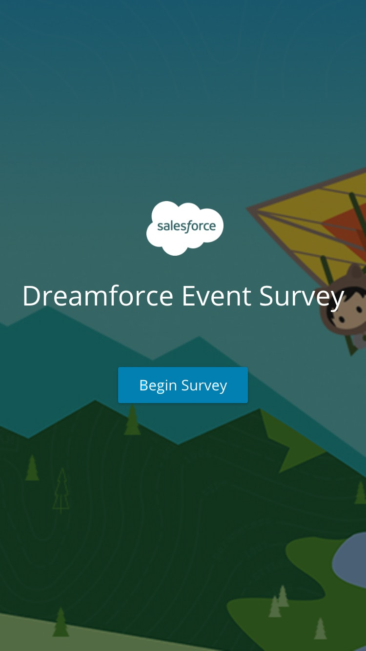 Survey dreamforce 2