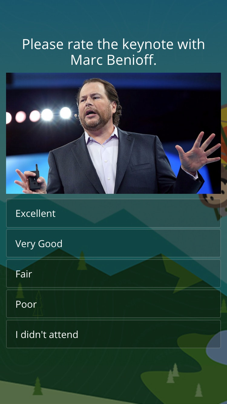 Survey dreamforce 3