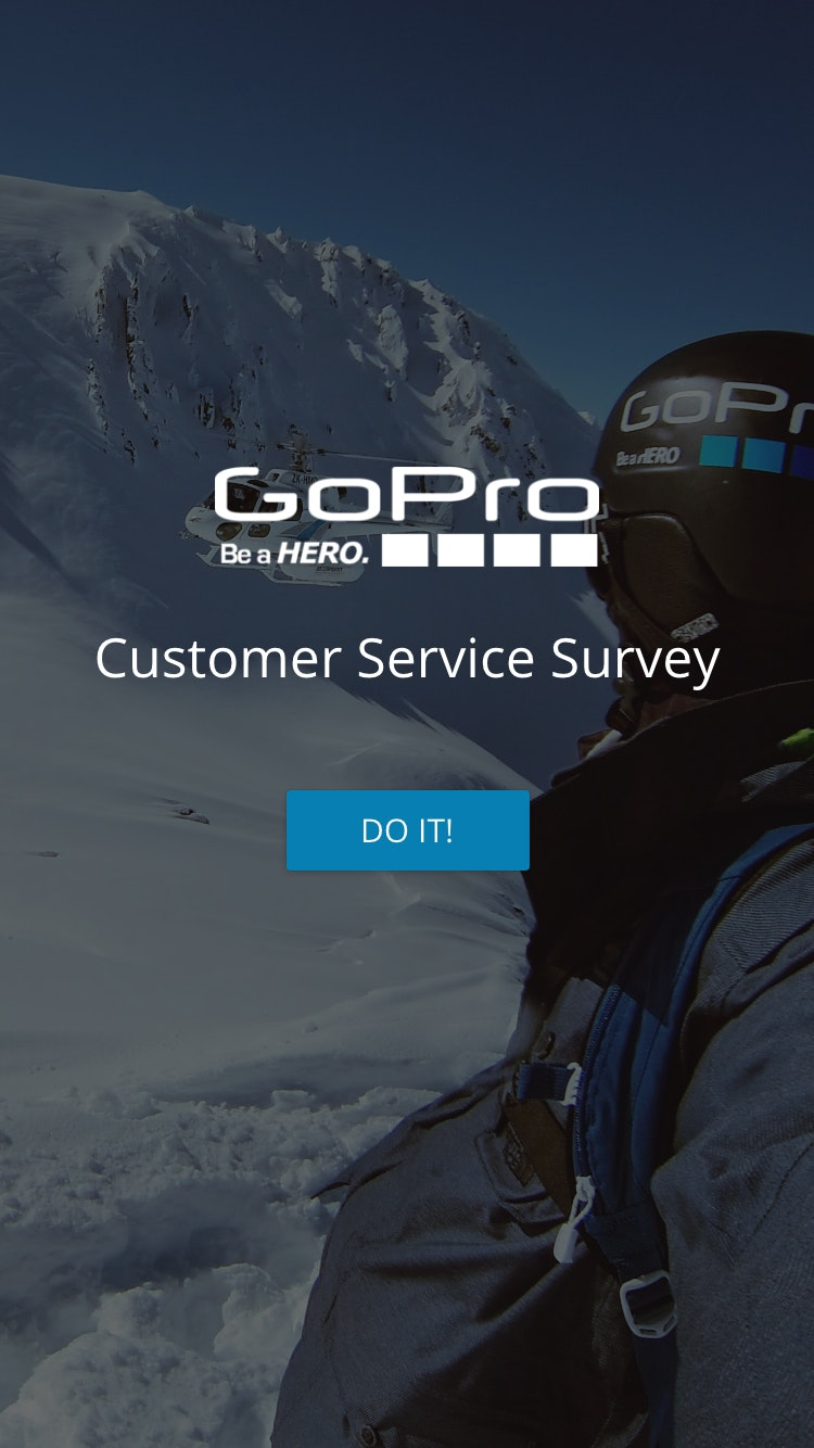 Survey gopro 2